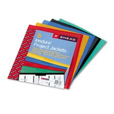 Clear-Front Project Jackets, 5/Pack (Set of 2)