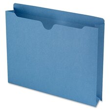 """File Jackets with 2-Ply Tab and 2"""" Accordion Expansion, 50/Box"""