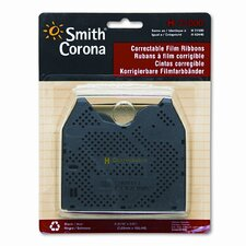 63446 Correctable Film Ribbon for Typewriters, Two per Pack