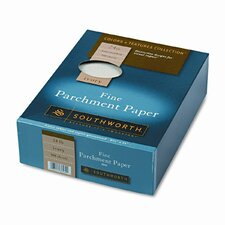 Parchment Specialty Paper, 24 Lbs., 8-1/2 X 11, 500/Box