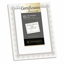 Premium Certificates (Set of 15)