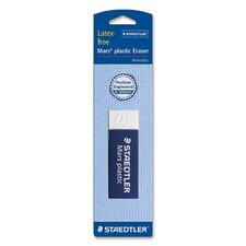 "Plastic Eraser, Latex-free, 2-1/2""x7/8""x1/2"", WE"