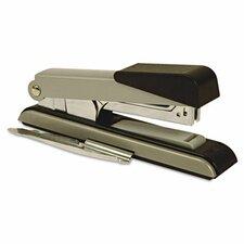 B8 Flat Clinch Stapler, 40 Sheet Capacity, Black