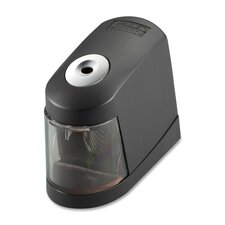"Pencil Sharpener, Battery Powered, 6""x2-3/5""x4-1/2"", Black"