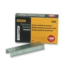 "Standard Staples, 1/4"", 1000 per Box (Set of 4)"