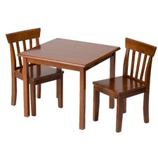 Children's 3 Piece Table & Chair Set