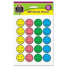 Valu-Pak Happy Face Sticker (Set of 2)
