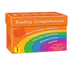 Fiction Reading Comprehension Flash Cards