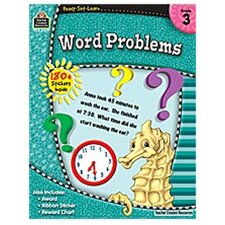 Rsl Word Problems Grade 3 Book (Set of 3)