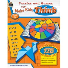 Puzzles and Games That Make Kids Book