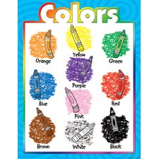 Colors Early Learning Chart (Set of 3)