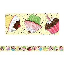Sw Cupcake Straight Classroom Border (Set of 2)