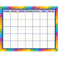 Rainbow Calendar (Set of 3)