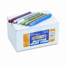 Glitter Glue Pens, 72/Pack
