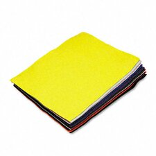 Rectangular Felt Sheet Pack, 12/Pack (Set of 2)