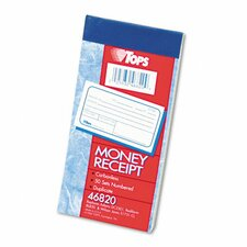 Money and Rent Receipt Books, 50 Sets/Book (Set of 2)
