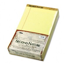 Second Nature Recycled Pad, Legal/Margin Rule, Legal, 50-Sheet