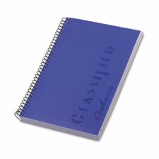 Classified Colors Notebook, Narrow Rule, 100 Sheets