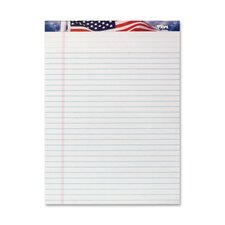 "Writing Tablet, American Pride, Legal Ruled, 8-1/2""x11-3/4"""