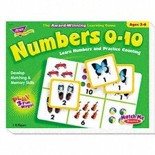 Numbers 0-10 Match Me Puzzle