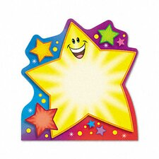 Note Pad with Super Star Design, 50 Sheets/Pad (Set of 2)