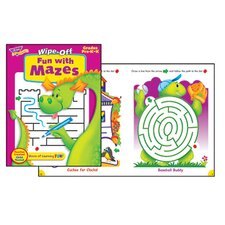 Fun with Mazes Wipe off Book (Set of 2)