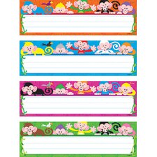 Color Monkeys Variety Name Tag (Set of 2)
