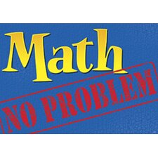 Math No Problem Poster (Set of 3)