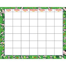 Monkey Mischief Wipe-off Monthly Calendar (Set of 2)