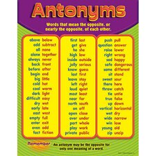 Antonyms Chart (Set of 3)