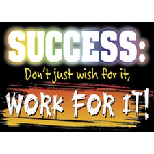 Success Dont Just Wish Poster (Set of 3)