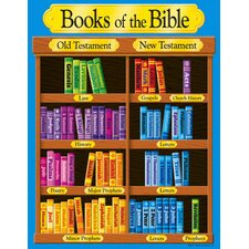 Books of The Bible Learning Chart (Set of 3)