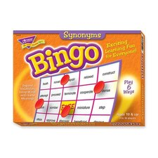 Synonyms Bingo Game, 3-36 Players, 36 Cards/Mats