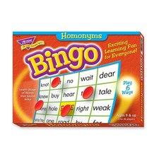 Homonyms Bingo Game, 3-36 Players, 36 Cards/Mats