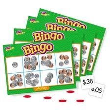 Money Bingo Games, 36 Playing Cards, 200 Chips, English