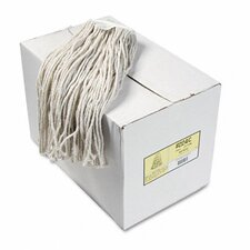 Premium Cut-End Wet Mop Heads, Cotton, 24-Oz., 12/Carton
