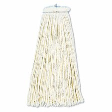 Cut-End Lie-Flat Wet Mop Head, Cotton