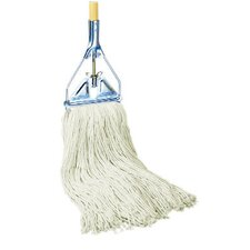 Rayon Fiber Mop Head in White (Set of 16)