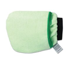 Grip-n-Flip 10-Sided Microfiber Mitt in Green (Set of 2)
