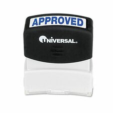 Message Stamp, Approved, Pre-Inked/Re-Inkable
