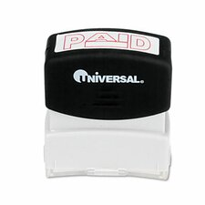 Message Stamp, Paid, Pre-Inked/Re-Inkable