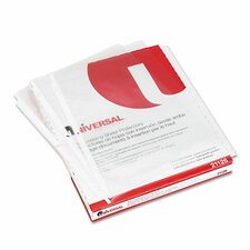 Top-Load Poly Sheet Protectors, 50/Box (Set of 3)