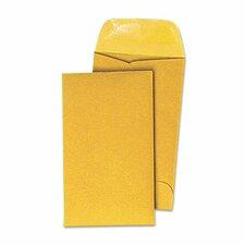 Kraft Coin Envelope, #3, 500/Box