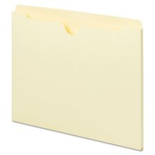 Manila File Jackets with Reinforced Tabs, 100/Box