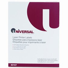 Laser Printer Permanent Labels, 1000/Box