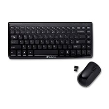 Mini Wireless Slim Keyboard Mouse Combo