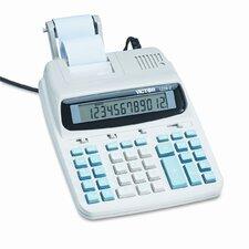 Roller Printing Calculator, 12-Digit Lcd