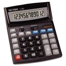 Executive Desktop Calculator, 12-Digit Lcd