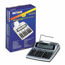 1210-3A Antimicrobial Desktop Calculator, 10-Digit LCD, Two-Color Printing