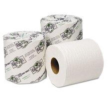 Ecosoft Universal 2-Ply Toilet Paper - 500 Sheets per Roll / 96 Rolls